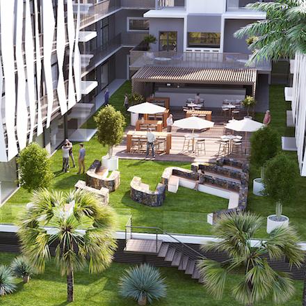 Ebene Junction 2 garden